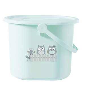 Bebe Jou  Banyo Kovası Owl Family 14 LT Mavi