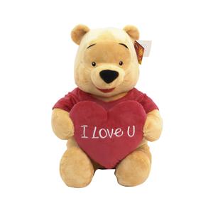 Disney Wtp Temalı - Pooh Kırmızı Kalpli 61 cm Sarı