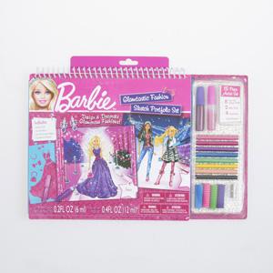 FA Barbie Glamtastic Moda Tasarım Portfolyo ve Sanat Seti