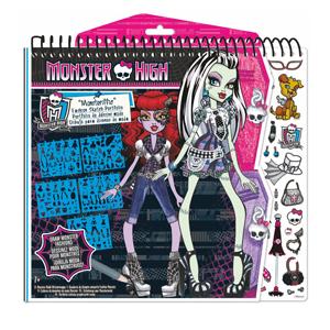 Fa Monster High Tasarım Portfolyo - Moda Tasarımı