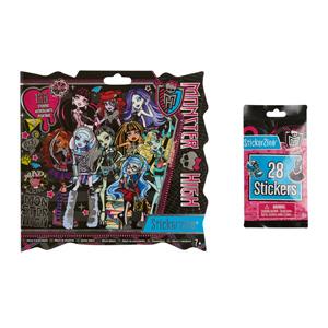 Fashion Angels Monster High Stickerzine 28'Li Çıkartma Paketi