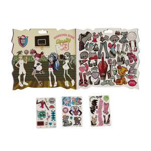 Fa Monster High Stickerzine Çıkartmalı Moda Albüm