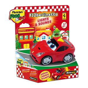 Ferrari Işıklı ve Sesli Araba