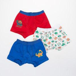 Erkek Çocuk İç Çamaşır Set Emprime Desen (2-6 yaş)