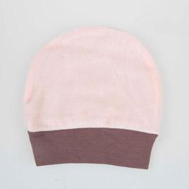 Kız Bebek Şapka Pudra