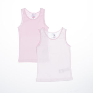 Kız Çocuk Kolsuz Tişört Çizgili (2-6 yaş)
