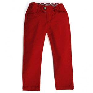 Kız Çocuk Pantolon Kırmızı (3-7 yaş)