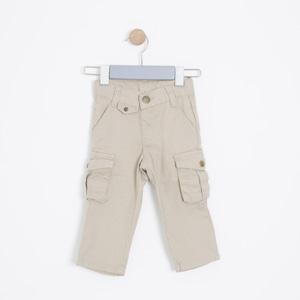 Erkek Çocuk Kısa Kol Tişört Bej (3-7 yaş)
