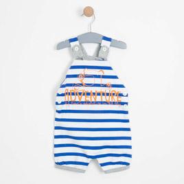 Erkek Bebek Salopet Açık Saks (0-2 yaş)