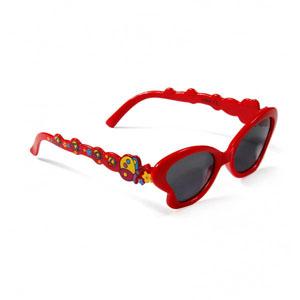 Kız Bebek Gözlük Kırmızı