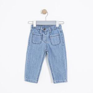 Kız Bebek Pantolon Mavi (74 cm-3 yaş)