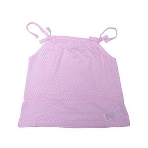 Kız Çocuk Kolsuz T-shirt Açık Pembe (3-7 yaş)
