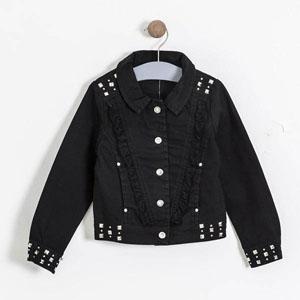 Kız Çocuk Ceket Siyah (3-7 yaş)