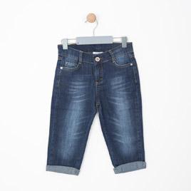 Kız Çocuk Pantolon Koyu Mavi (8-12 yaş)
