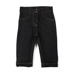 Erkek Bebek Kot Pantolon Gri (74 cm-3 yaş)