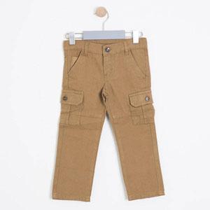 Safari Erkek Çocuk Pantolon Kahve (3-7 yaş)