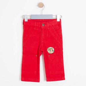 Erkek Çocuk Pantolon Kırmızı (74 cm-7 yaş)