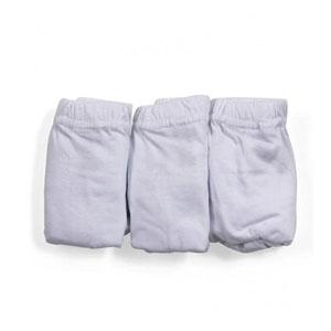 Erkek Çocuk Üçlü Külot Set Beyaz (8-12 yaş)