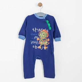 Erkek Bebek Tulum Saks (62 cm-2 yaş)