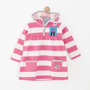 Kız Bebek Elbise SaKız Pembe (74 cm-3 yaş)