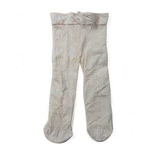 Kız Bebek Külotlu Çorap Krem (0-2 yaş)