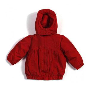 Kız Bebek Yağmurluk Fuşya (0-3 yaş)