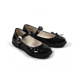 Kız Çocuk Papyon Fiyonklu Ayakkabı Siyah (26-30 numara)