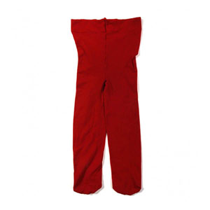 Kız Çocuk Mikro 50 Külotlu Çorap Kırmızı (0-12 yaş)
