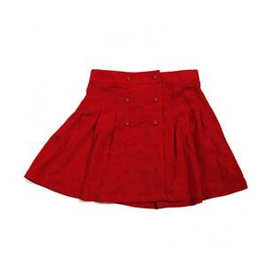 Kız Çocuk Etek Kırmızı (8-12 yaş)