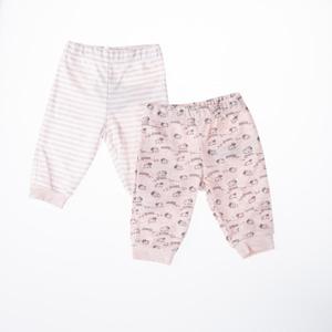 Kız Bebek İkili Pantolon Set Emprime Desen (56 cm-2 yaş)