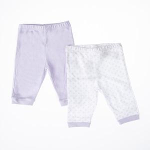 Kız Bebek İkili Pantolon Set Lila (56 cm-2 yaş)