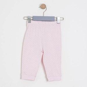Kız Bebek İkili Patikli Pantolon Set Açık Pembe (56-92 cm)