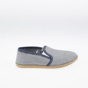 Erkek Çocuk Bez Ayakkabı Çizgili (26-30 numara)