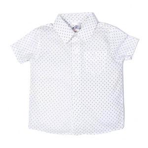 Erkek Çocuk Kısa Kol Gömlek Lacivert (0-7 yaş)