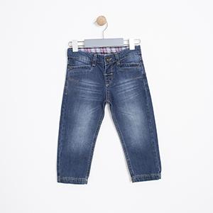Erkek Çocuk Pantolon Mavi (74 cm-7 yaş)