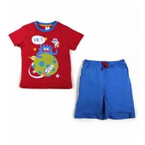 Erkek Çocuk Pijama Takımı Nar (74 cm)