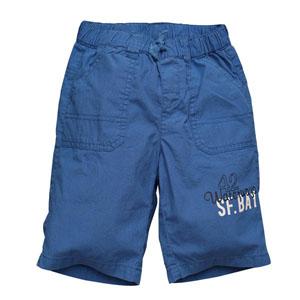 Erkek Çocuk Bermuda Şort Mavi (74 cm-7 yaş)