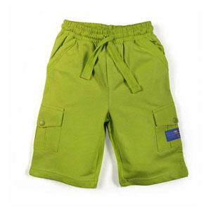 Erkek Çocuk Bermuda Şort Fıstık Yeşil (0-7 yaş)