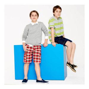 Erkek Çocuk Bermuda Şort Açık Kırmızı (7-12 yaş)