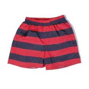 Erkek Çocuk Şort Mayo Kırmızı (7-12 yaş)