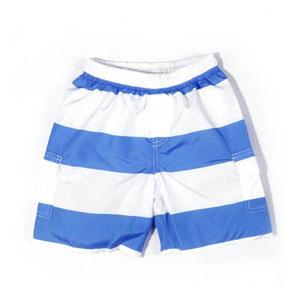 Erkek Çocuk Şort Mayo Koyu Mavi (7-12 yaş)
