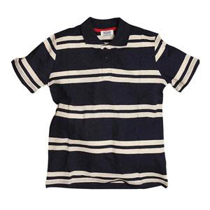 Erkek Çocuk Kısa Kol Tişört Lacivert (7-12 yaş)