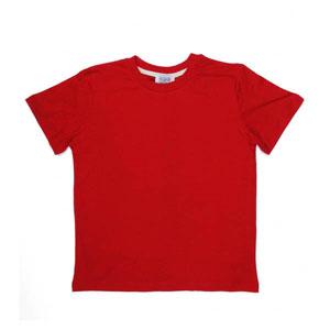 Erkek Çocuk Kısa Kol Tişört Kırmızı (7-12 yaş)