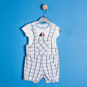 Pop Art Erkek Çocuk Bermuda Şort Lacivert (74 cm-7 yaş)
