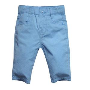 Erkek Bebek Pantolon Gök Mavi