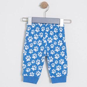 Erkek Bebek İkili Pantolon Set Açık Mavi (56 cm-3 yaş)