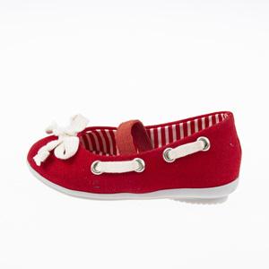 Kız Çocuk Babet Kırmızı (21-25 numara)
