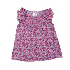 Kız Çocuk Kolsuz Tişört Toz Pembe (74 cm-7 yaş)