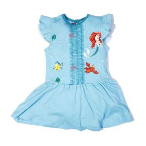 Disney Princess-2 Kısa Kol Elbise (2-7 yaş)