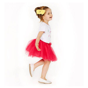 Kız Çocuk Etek Fuşya (74 cm-7 yaş)